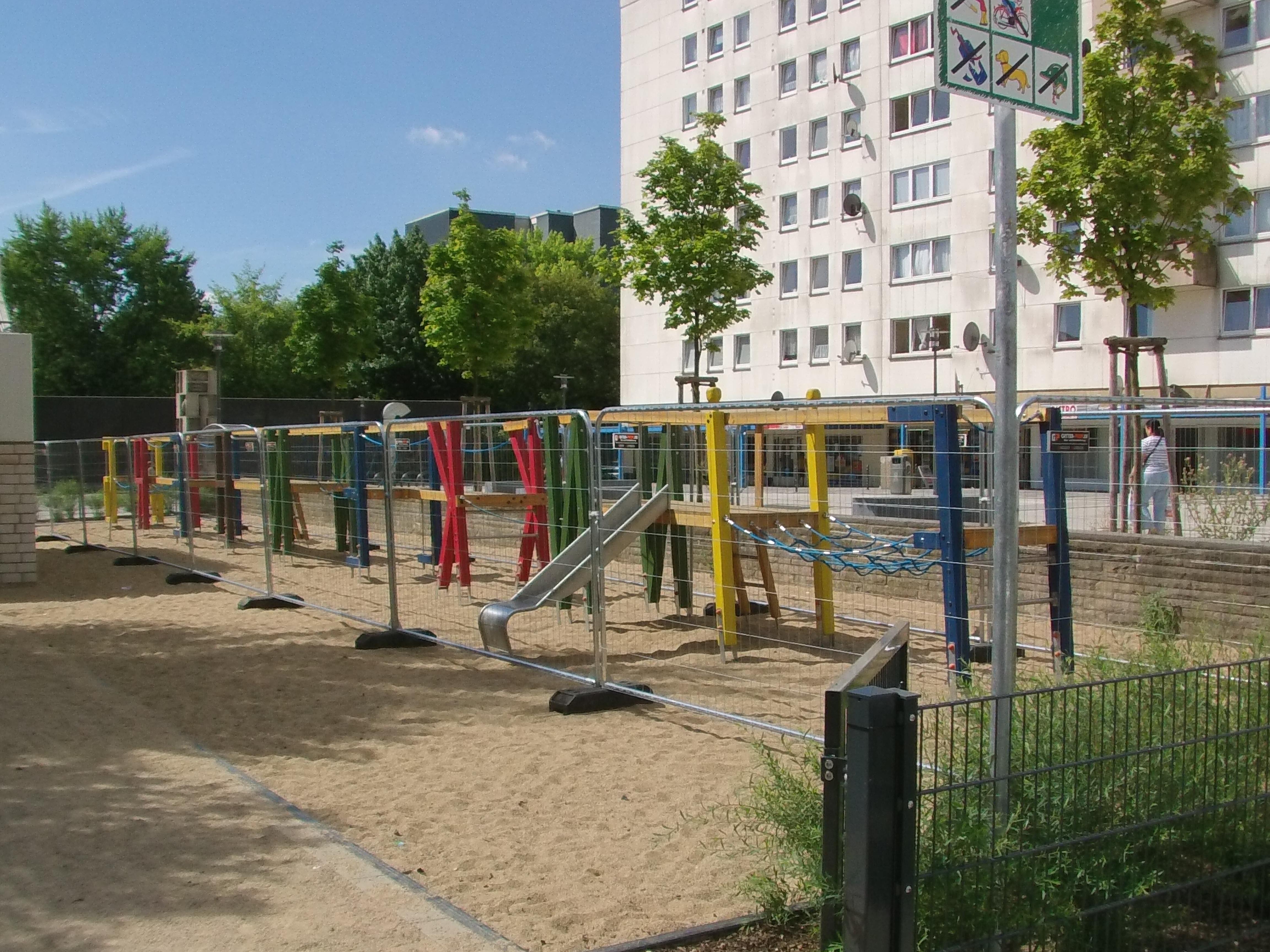 Sicherung Spielplatz in Köln
